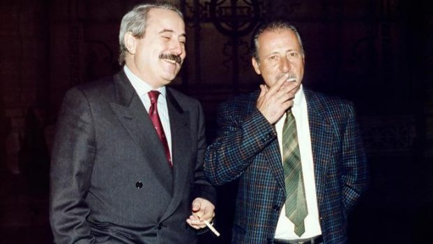 I magistrati Falcone e Borsellino