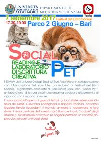 locandina social pet